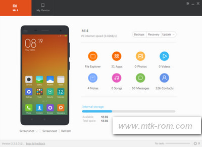 Redmi Note 3 PC Suite Latest Install For Windows