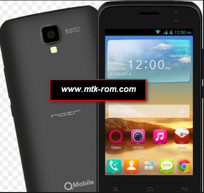 Qmobile A8i MT6572 firmware flash file Rom