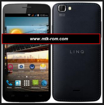 Qmobile Linq X300 MT6582 flash file firmware Rom