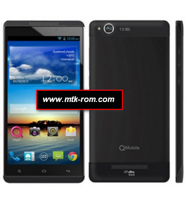 Qmobile V5 MT6589 firmware flash file Rom