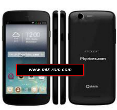 Qmobile i10 MT6582 firmware flash file Rom