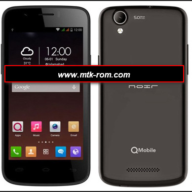 Qmobile i7 MT6582 flash file firmware free rom