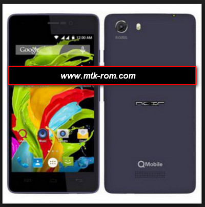 Qmobile i8 MT6582 flash file firmware Rom