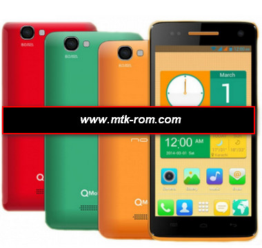 Qmobile i9 MT6582 flash file Free firmware Rom