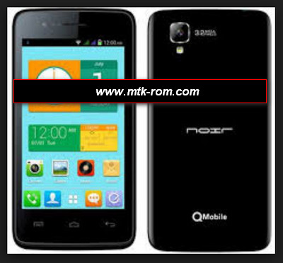 Qmobile x25 flash file firmware Rom