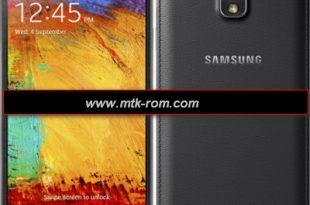 Samsung Galaxy Note 3 Clone MT6572 firmware flash file