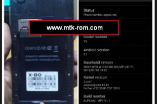SONY XBO V6 LCD Fixed Firmware Download Free