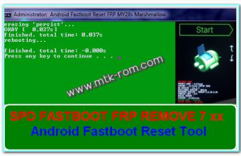 Android Fastboot Reset Tool (2020) FRP Remove