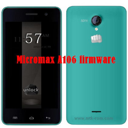 Micromax A106 Firmware Flash File ROM