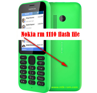 Nokia rm 1110 flash file