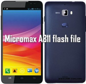Micromax A311 flash file