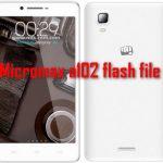 Micromax a102 flash file