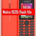 Nokia 1035 flash file