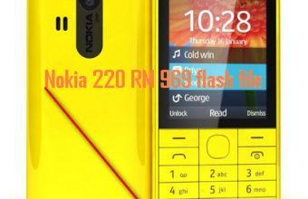 Nokia 220 RM 969 flash file mcu+ppm+cnt V30.06.11 latest version