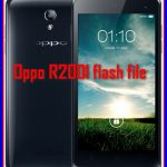 Oppo R2001 flash file