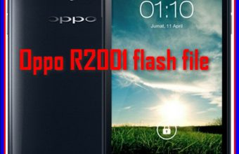 Oppo R2001 Official Flash File MT6582 Firmware Download